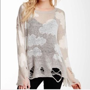 Wildfox White Label Lennon cloud sweater